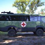 Торсус Праеториан медицинский эвакуационный автобус.