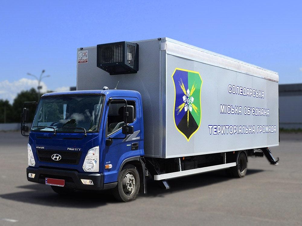 Мобильный офис на Hyundai EX8.