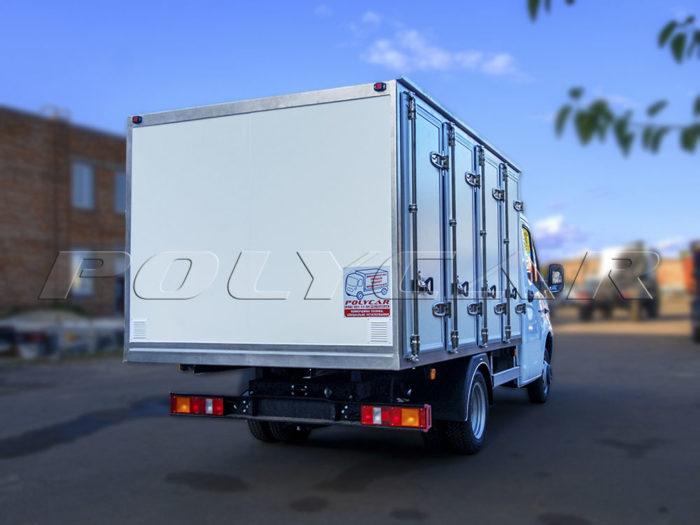 Хлебный фургон, выполненный в Polycar, на базе Газель Некст.