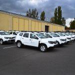 Партия автомобилей Renault Duster, переоборудованных для пограничной службы Укрианы.