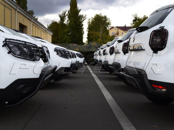 Renault Duster пограничной службы Укрианы.