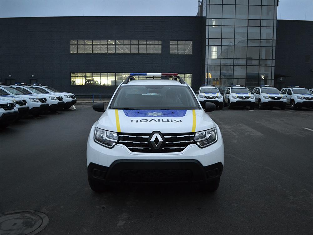 Мы можем больше: еще одна партия патрульных автомобилей на Renault.