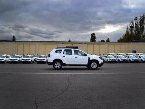 Партия автомобилей Renault Duster, переоборудованных для пограничной службы Украины.