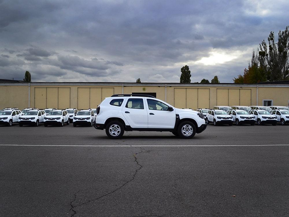 Партия автомобилей Renault Duster для пограничной службы Украины.