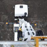 Автовышка высотой 32 метра, установленная на МАЗ.