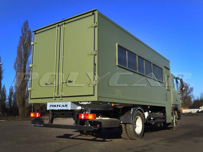 Вахтовка на базе грузового автомобиля МАЗ 4371N2.