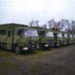 Партия вахтовок на базе МАЗ производства Polycar.