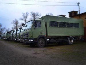 Вахтовки на базе МАЗ.