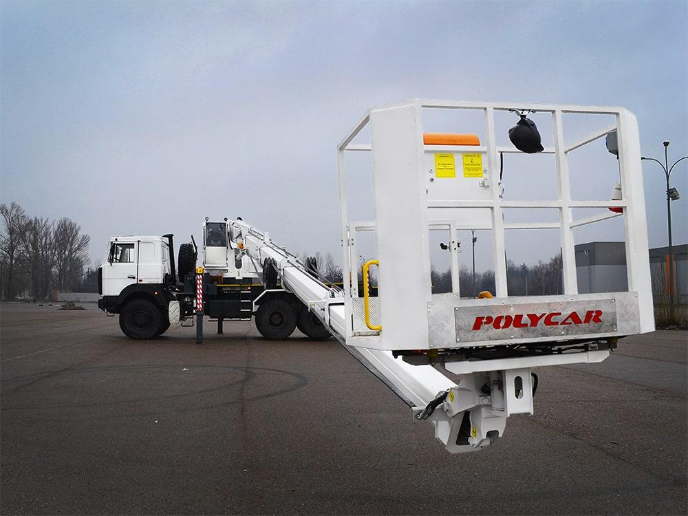 Ще одна вишка Paksan KT 325.25 встановлена на МАЗ 6317.