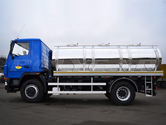 Автоцистерна объемом 10 куб. метров на базе МАЗ 5340С2.