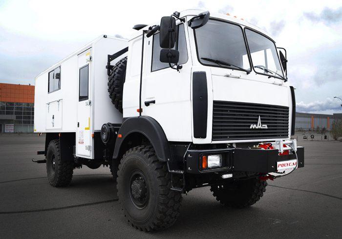 Аварийно-восстановительная машина на базе МАЗ 5316F5.