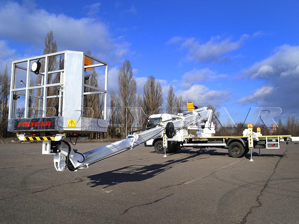Поможем достичь новых высот - установка автовышки в Украине.