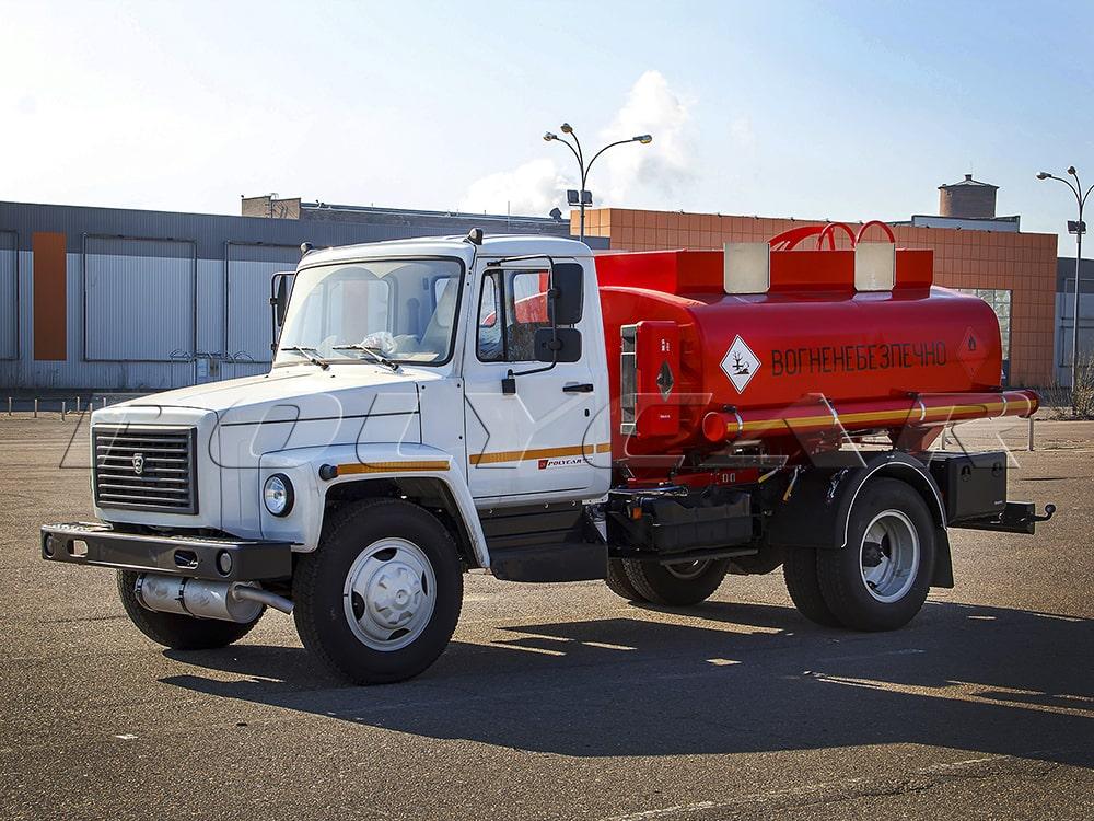Паливозаправник на базі ГАЗ 33098 з цистерною об'ємом 5 куб. м.