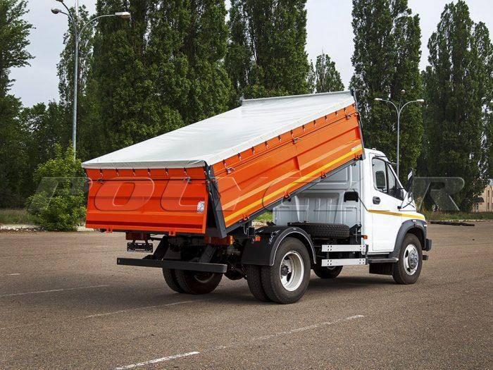Производство самосвальной платформы на ГАЗ NEXT.