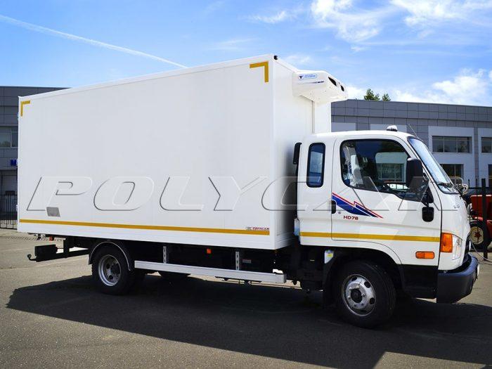 Рефрижераторный фургон и холодильное оборудование Thermal Master на Hyundai HD78.