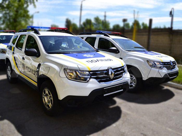Патрульные автомобили Рено.
