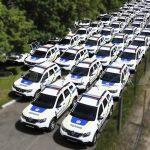 Партия патрульных автомобилей производства Polycar.