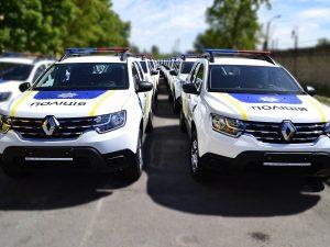 Патрульные автомобили Renault Duster.