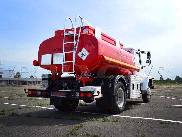 Автотопливозаправщик на базе ГАЗ 33098.