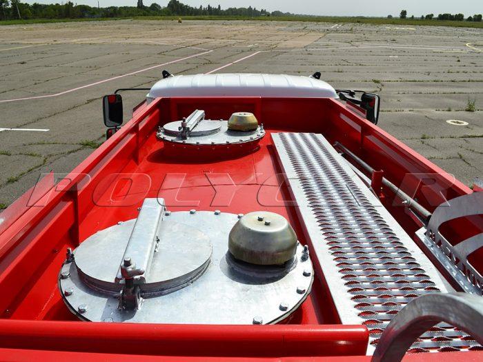 Кузов топливозаправщика на базе ГАЗ 33098.