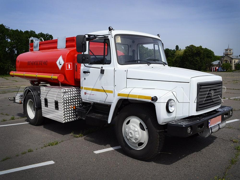 Ще одна партія паливозаправників на базі ГАЗ.