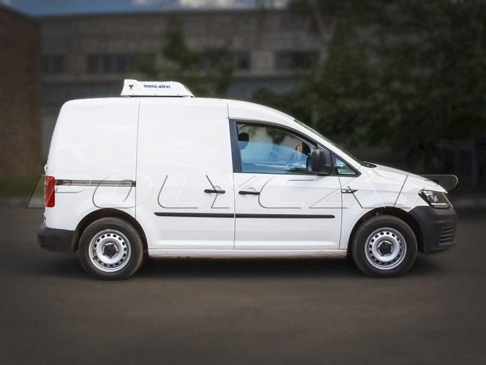 Volkswagen Caddy термокапсулой и холодильным оборудованием.