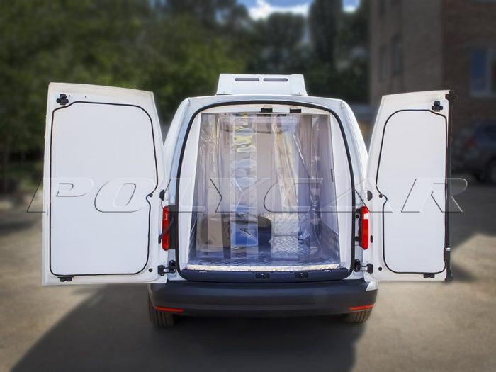 Термоизоляция фургона Volkswagen Caddy.
