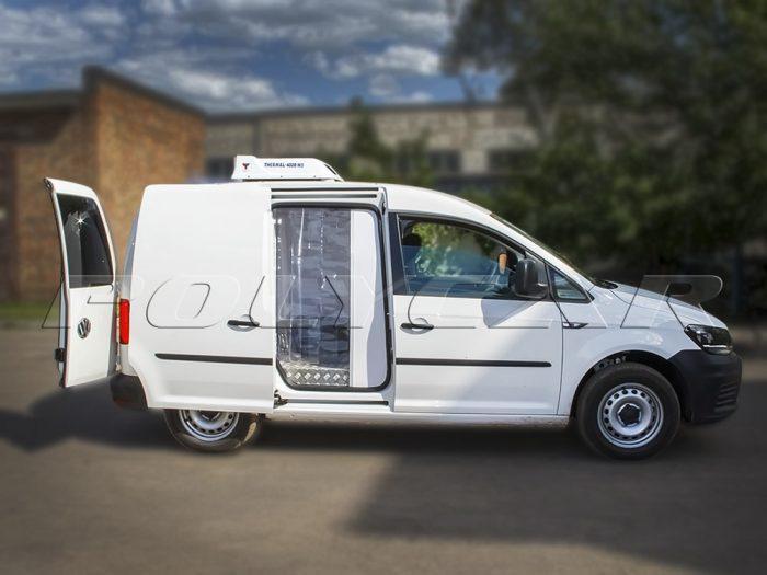 Термоизоляция цельнометаллического фургона Volkswagen Caddy под заказ.