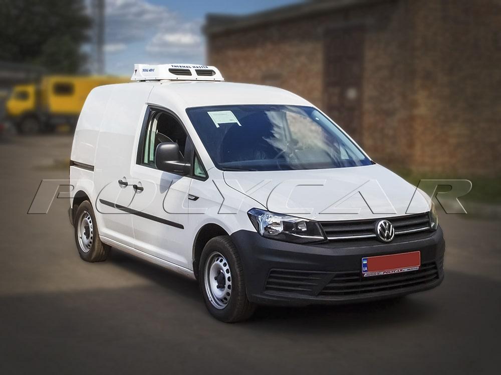 Термоизоляция фургона и установка ХОУ на Volkswagen Caddy.