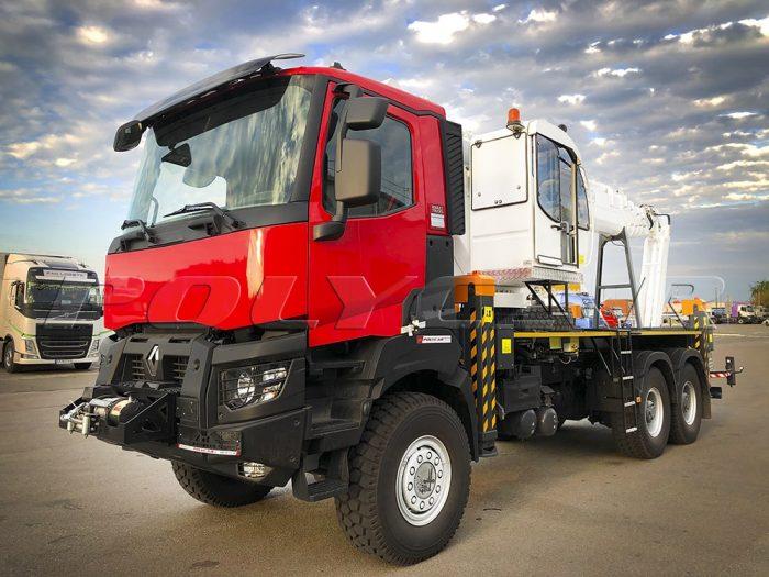 Автогидроподъемник Paksan KTF 325 на Renault Trucks K430.