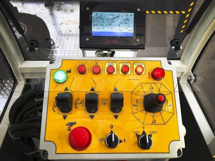 Пульт управления автовышкой Paksan KTF325.