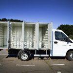 Хлебный фургон вместимостью 96 лотков производства Polycar.
