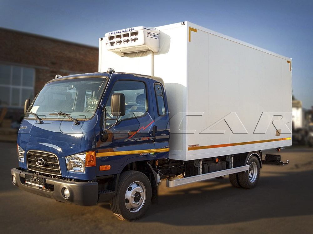 Рефрижераторний фургон Polycar на Hyundai HD78.