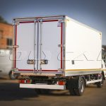 Рефрижераторный фургон на базе Isuzu NQR90.