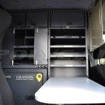 Кузов мобильного почтового отделения