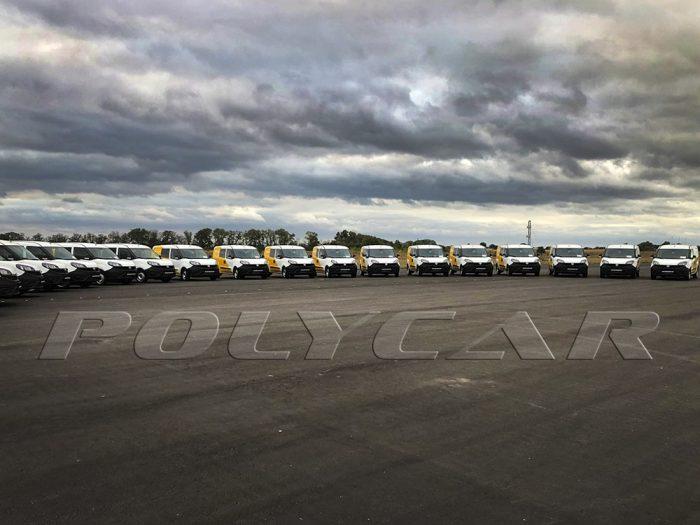 Партия 500 автомобилей Укрпочты.