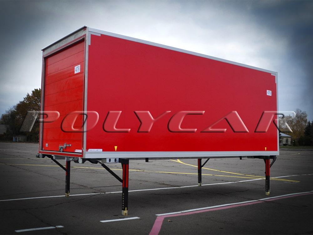 Съемный кузов (БДФ) производства Polycar.