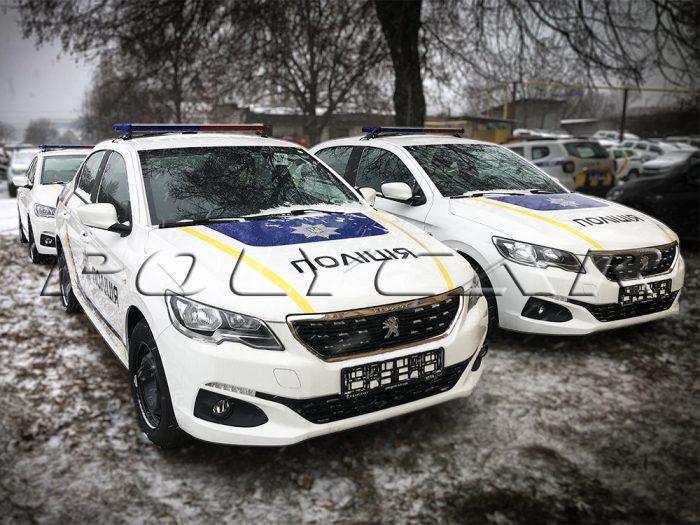 Патрульные автомобили Peugeot 301.