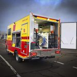 Аварійно-відновлювальна машина Київтеплоенерго. Виробництво Polycar.