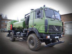 Авиационный топливозаправщик на базе МАЗ.