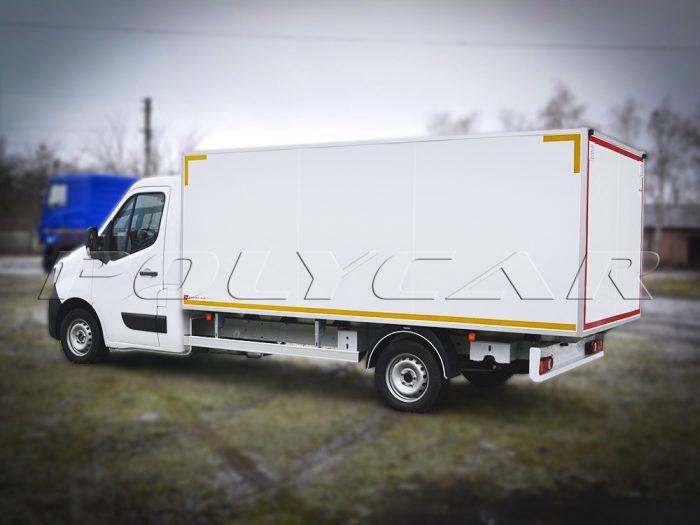 Хлібний фургон на базі Renault Master.