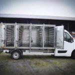 Хлебный фургон на 120 лотков, выполненный в Polycarна базе Renault Master.