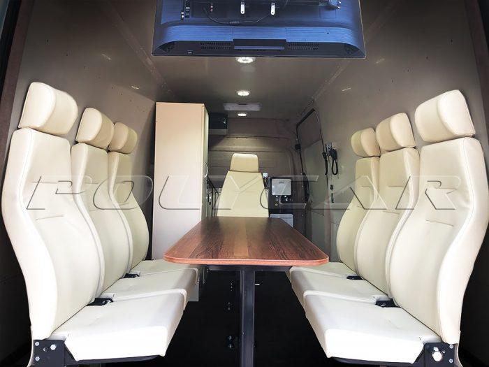 Переоборудование кузова микроавтобуса Mercedes Benz.