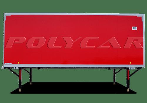 Съемные кузова производства Polycar.