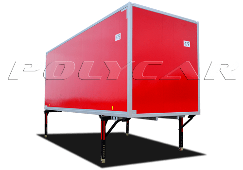 БДФ -съемный кузов производства Polycar.