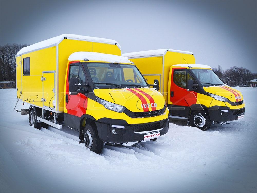 Аварійно-ремонтні майстерні газової служби виробництва Polycar.