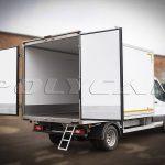Рефрижераторный фургон производства Polycar.