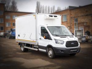Рефрижераторный фургон с холодильным оборудованием на Ford Transit.