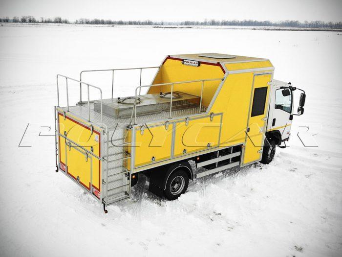 Автомобиль для проведения реагентных работ Киевводоканала.