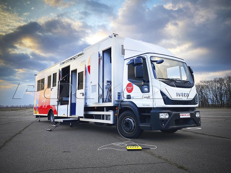 Мобільні центри надання адміністративних послуг виробництва Polycar.